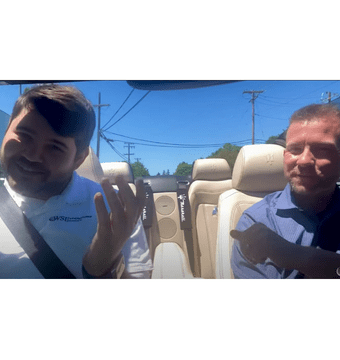 Ryan Kelly and Joshua Banks discuss NPS Surveys in the car.